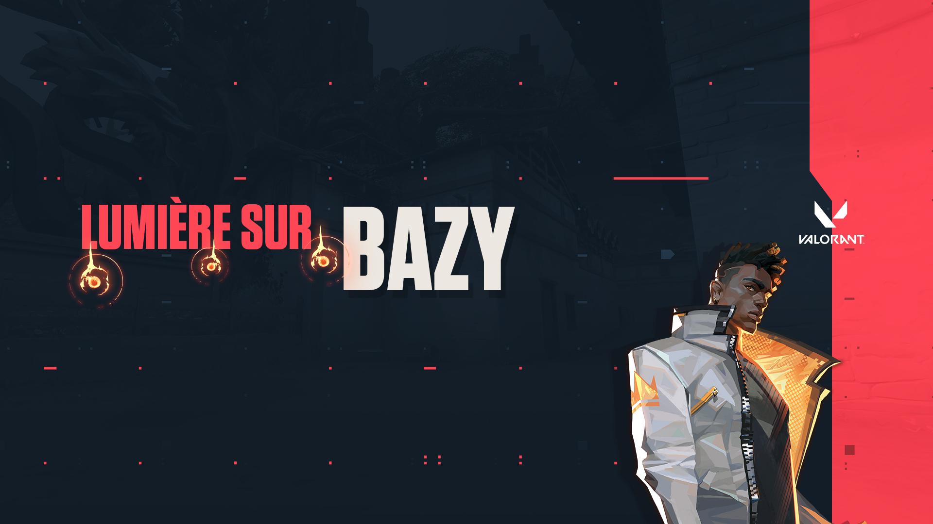 Bannière lumière sur bazy