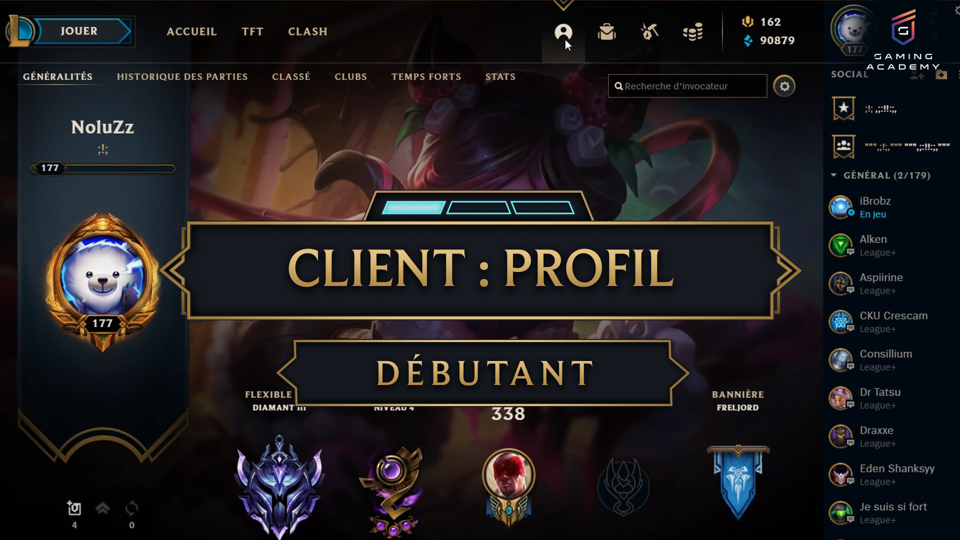 Lobby profil