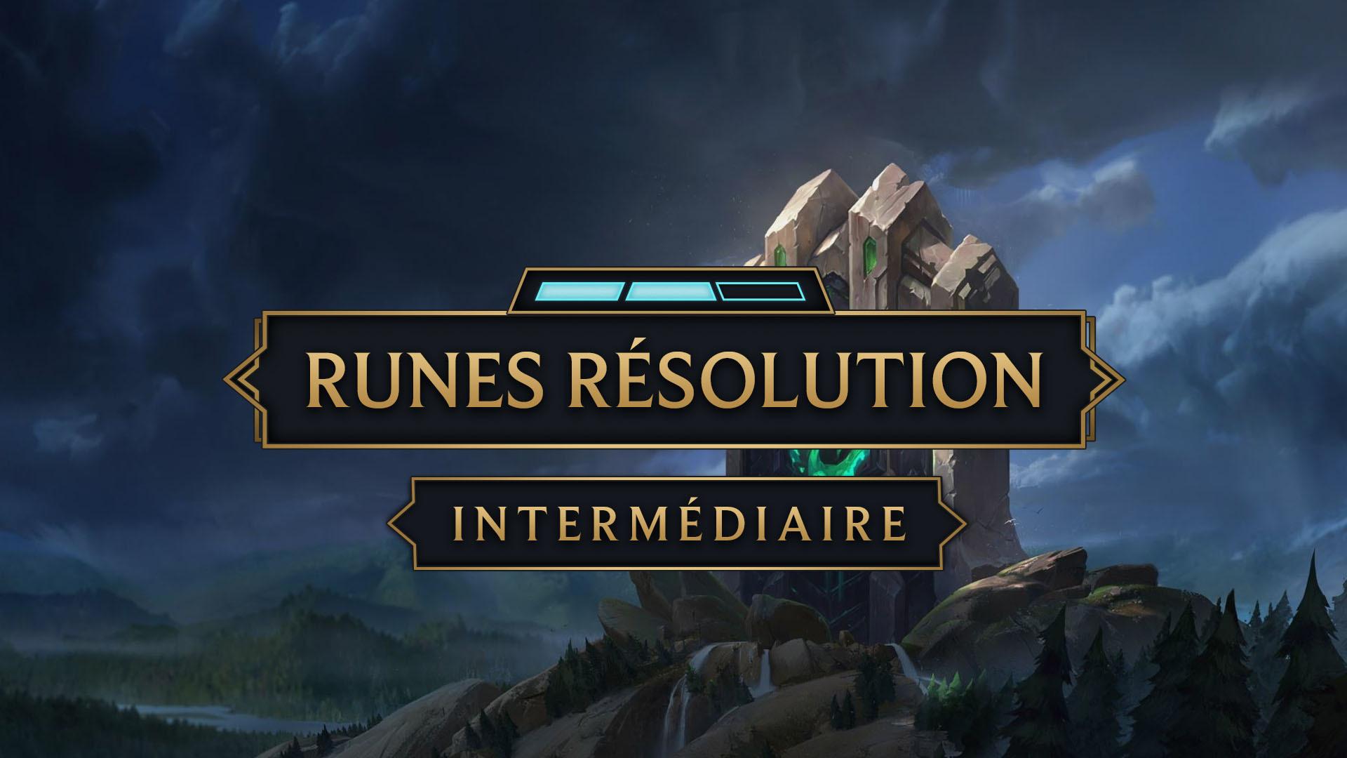 Runes resolve 1